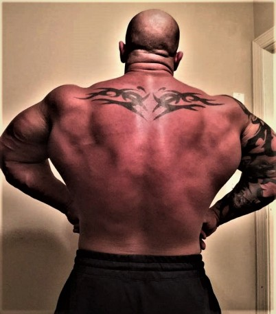 HUGE JACKED BACK