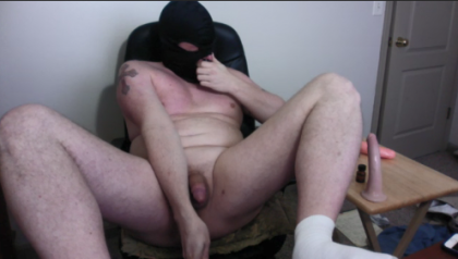 SNIFFING POPPERS WHILE FUCKING PLUNGER